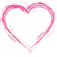 Pink Heart PNG Photos 1